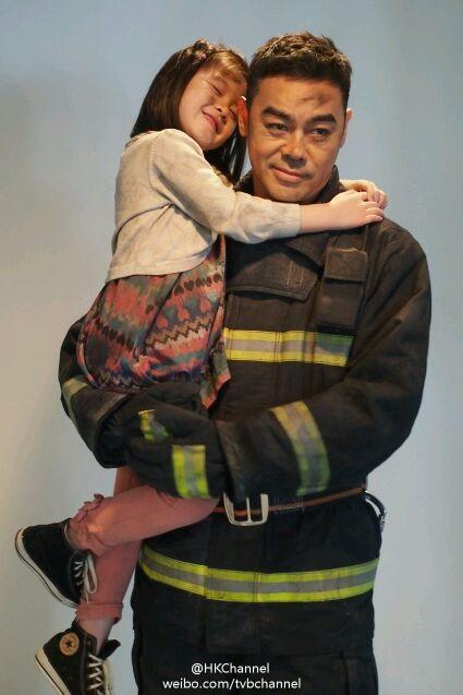 Ching Wan Lau and Crystal Lee in Tao chu sheng tian (2013)