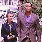 Daniel Sunjata and Ashley Williams in The Front (2010)