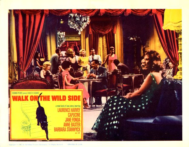 Jane Fonda, Barbara Stanwyck, and Joanna Moore in Walk on the Wild Side (1962)
