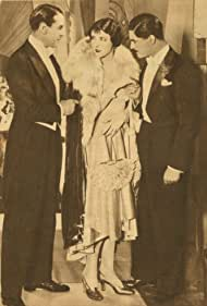 Marcella Albani, Gerald Fielding, and Jean Murat in L'évadée (1929)