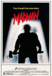 Madman (1981) Poster - Movie Forum, Cast, Reviews