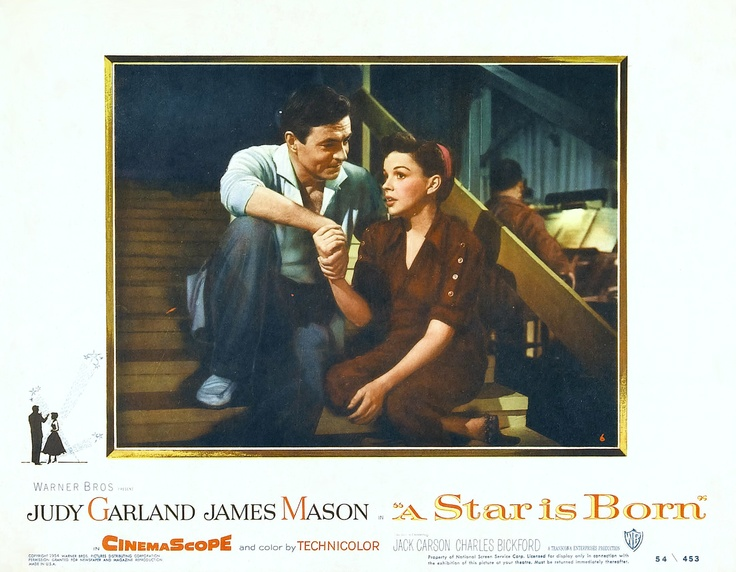 Judy Garland and James Mason in A Star Is Born (1954)