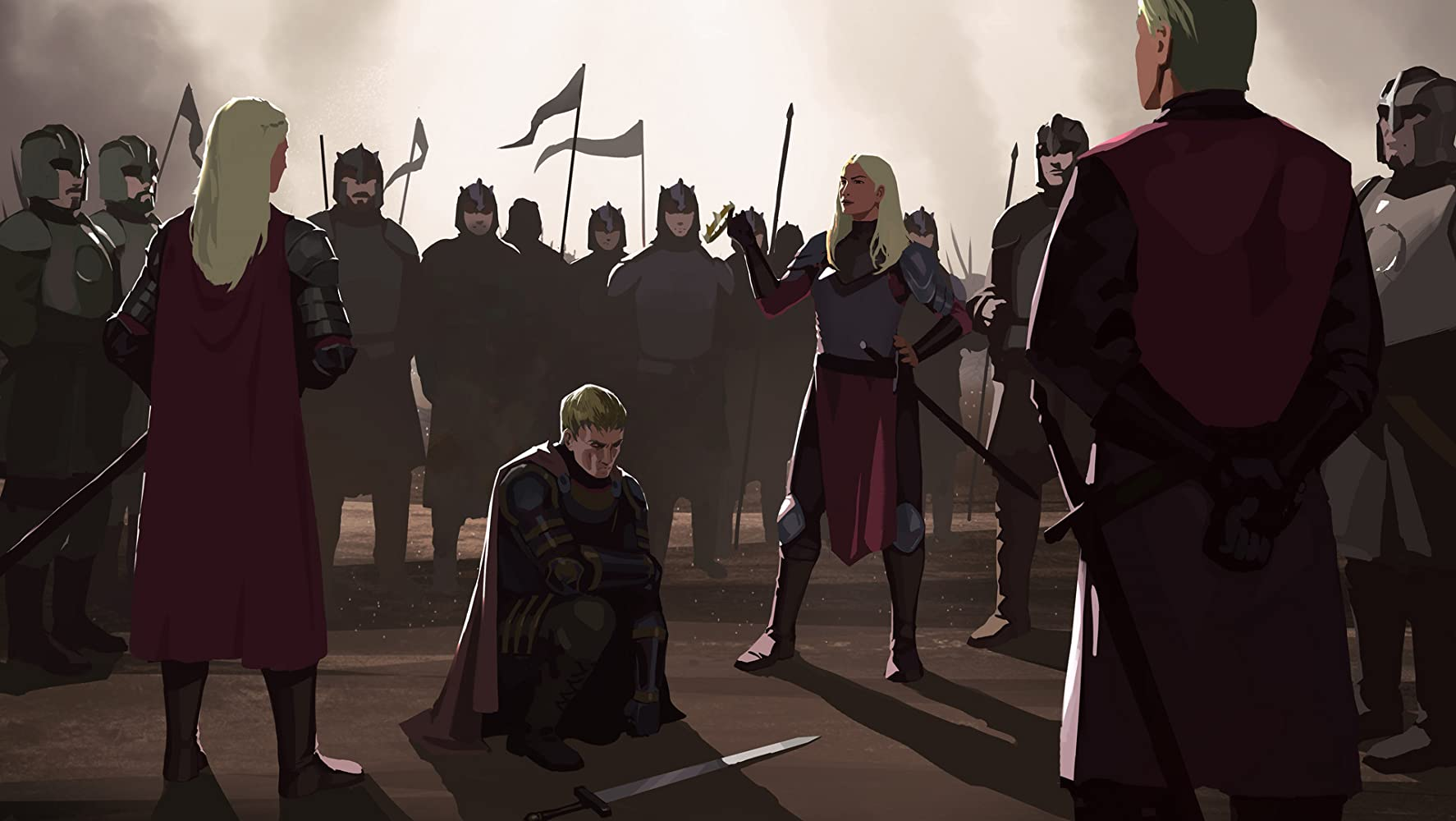 Game Of Thrones Conquest Rebellion An Animated History Of