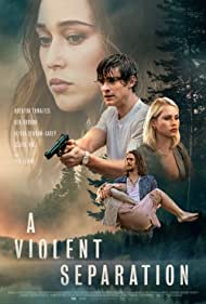 Alycia Debnam-Carey, Claire Holt, and Brenton Thwaites in A Violent Separation (2019)