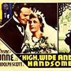 Randolph Scott and Irene Dunne in High, Wide and Handsome (1937)