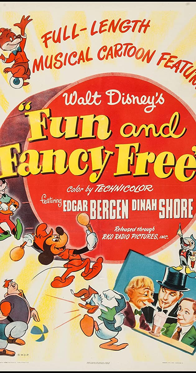 Subtitle of Fun and Fancy Free
