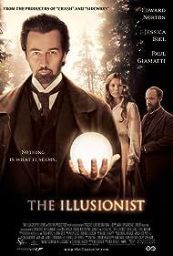 Edward Norton, Jessica Biel, and Paul Giamatti in The Illusionist (2006)
