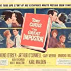Tony Curtis, Joan Blackman, Sue Ane Langdon, and Joanna Dix in The Great Impostor (1960)