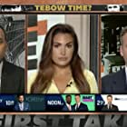 Max Kellerman, Stephen A. Smith, and Molly Qerim in ESPN First Take (2007)