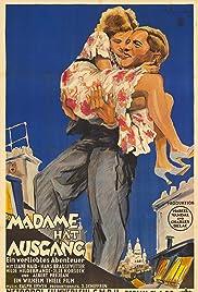 Madame hat Ausgang Poster