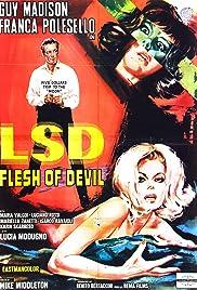 LSD Flesh of Devil Poster