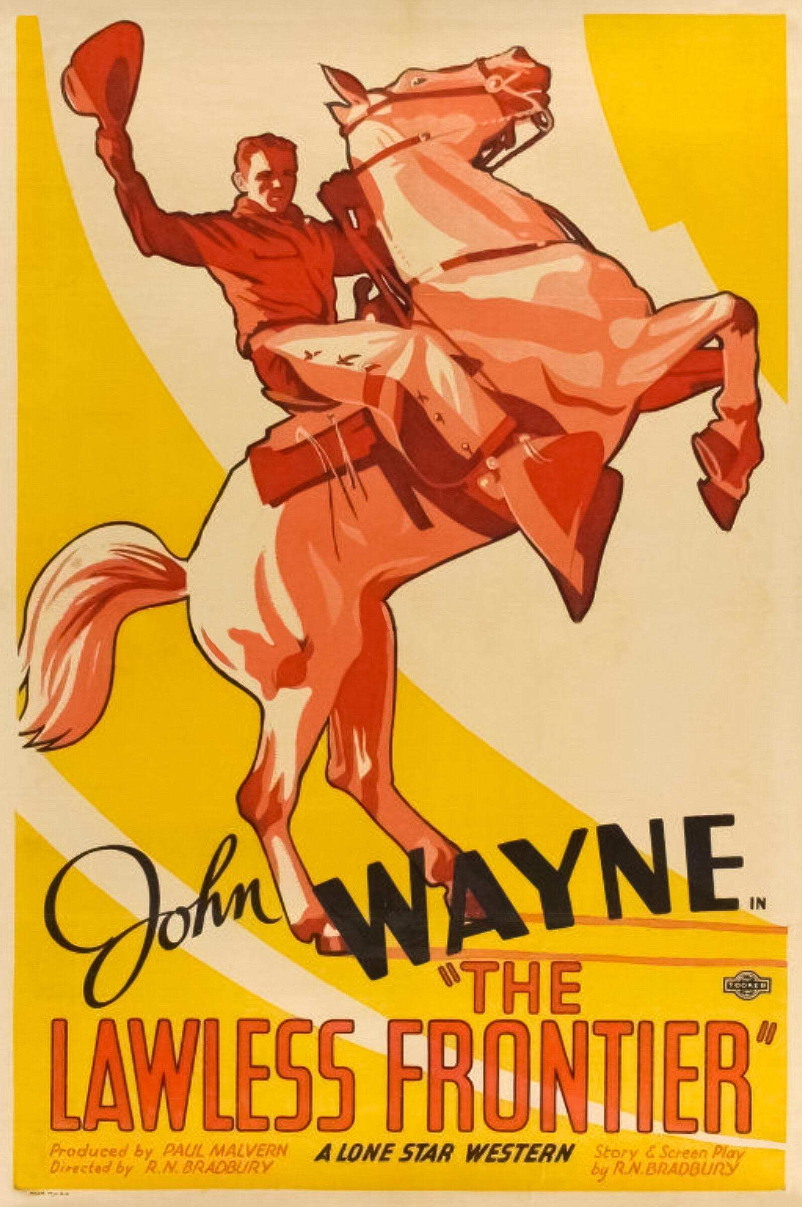 1935 Trail of Terror Bob Steele classic western movie poster print