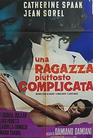 Florinda Bolkan, Jean Sorel, and Catherine Spaak in Una ragazza piuttosto complicata (1969)