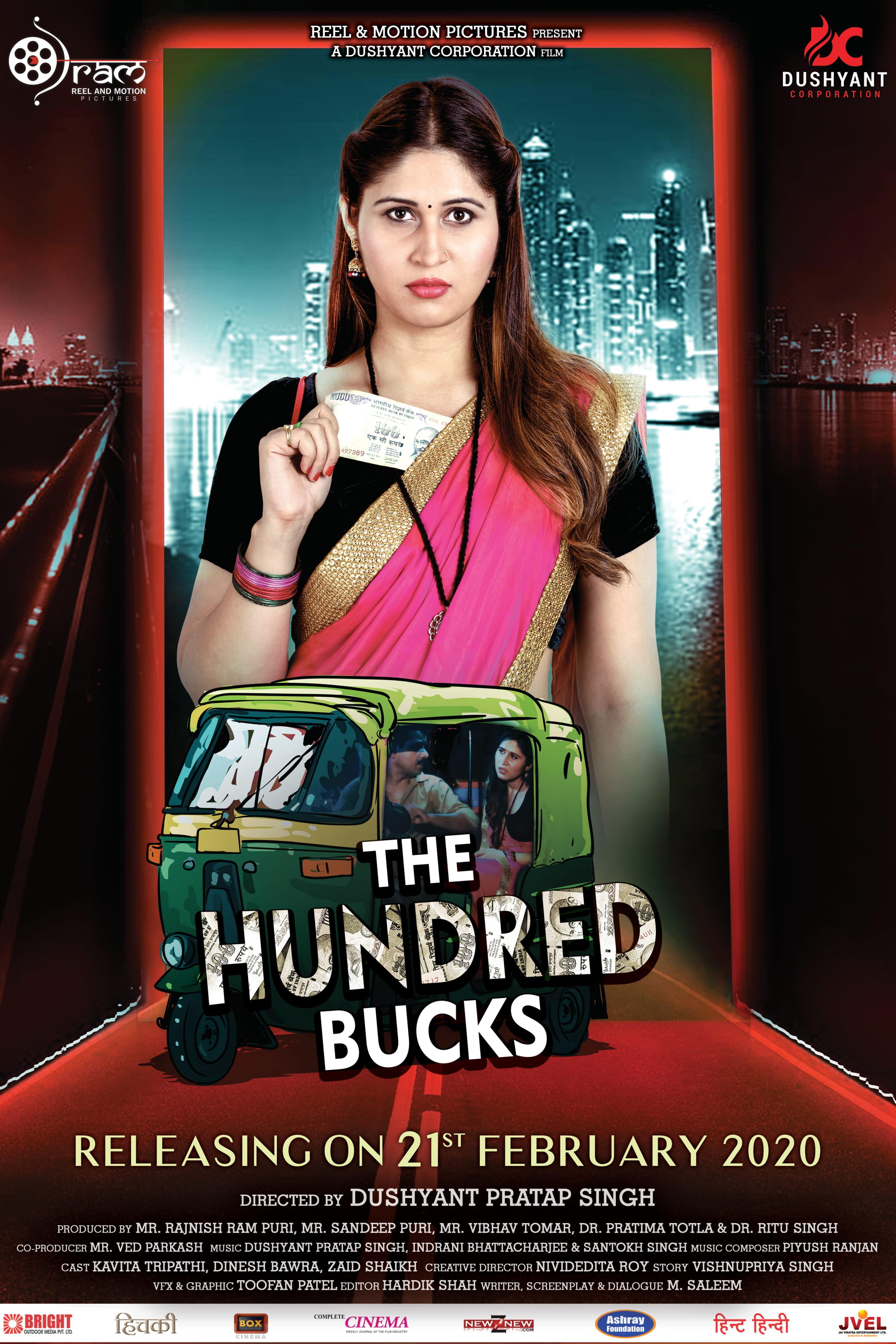 18+ The Hundred Bucks 2021 Hindi Movie 480p HDRip 300MB x264 AAC
