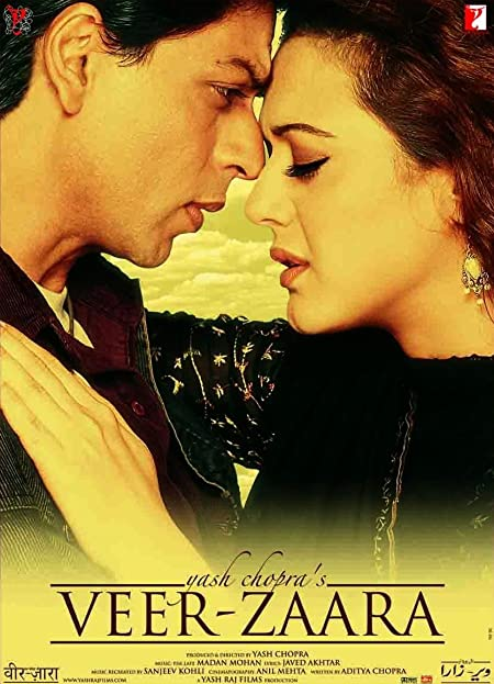 Veer-Zaara (2004) Hindi Blu-Ray  480P | 720P  x264  500MB | 1.5GB  Download