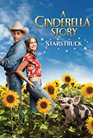Lillian Doucet-Roche and Michael Evans Behling in A Cinderella Story: Starstruck (2021)