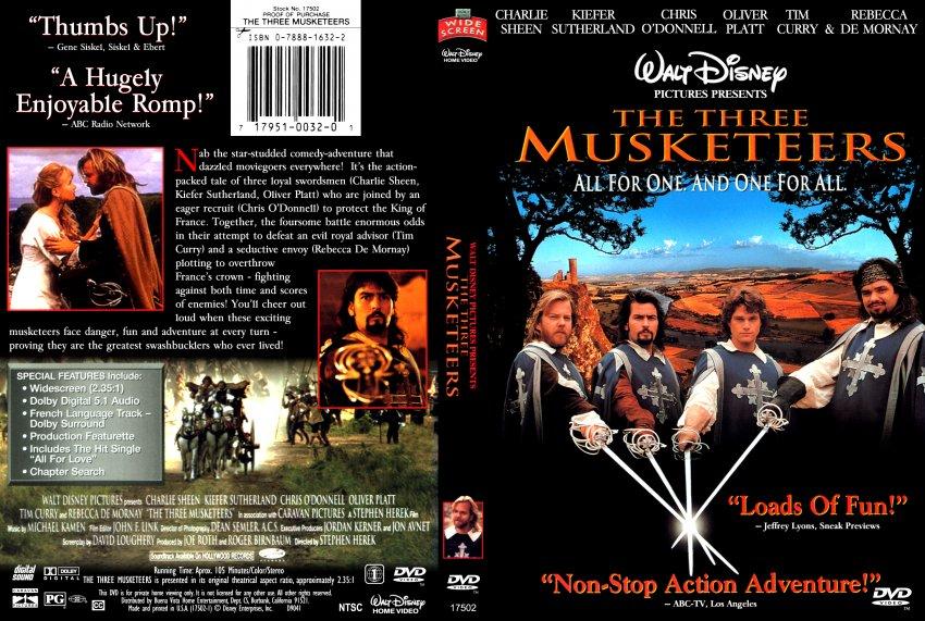 three musketeers 1993 full movie online