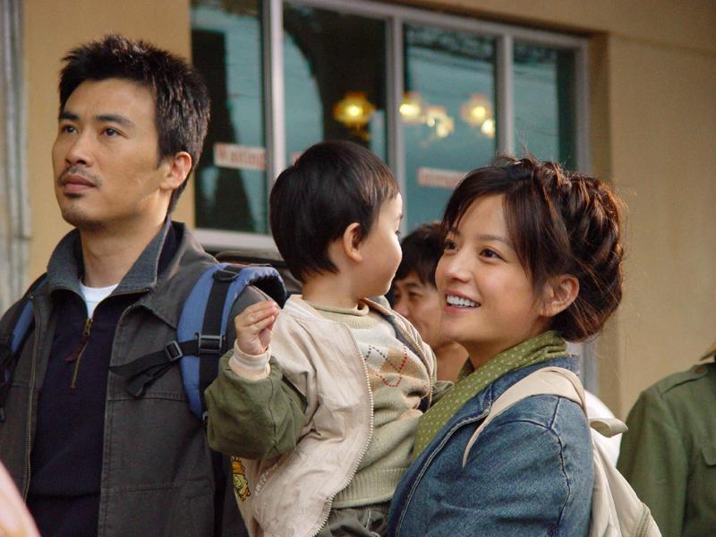 Yunlong Liu, Wei Zhao, and Jiatong Su in Yu guanyin (2003)