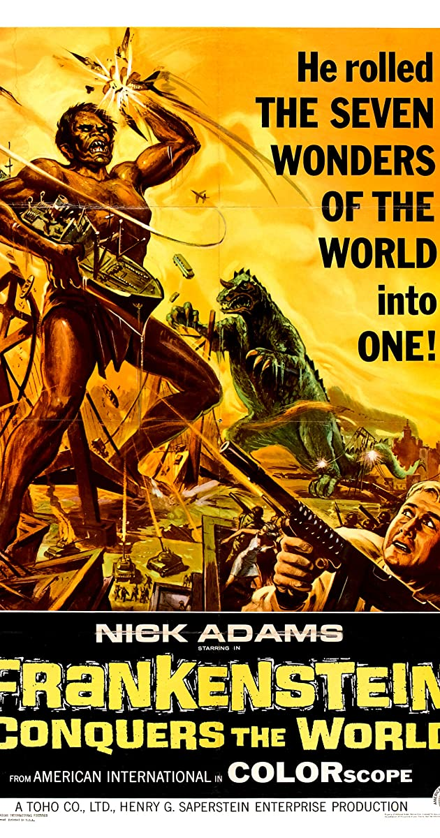Subtitle of Frankenstein Conquers the World