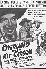 Overland with Kit Carson Poster