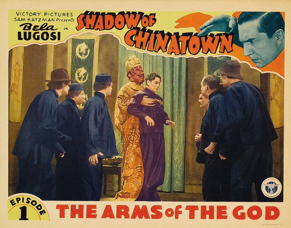 Bela Lugosi, George Chan, Paul Fung, Maurice Liu, and Henry T. Tung in Shadow of Chinatown (1936)