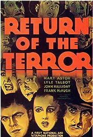 Return of the Terror Poster