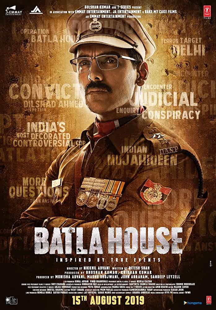 Batla House (2019) Hindi 720p CAMRip x264 Full Bollywood Movie [1GB]