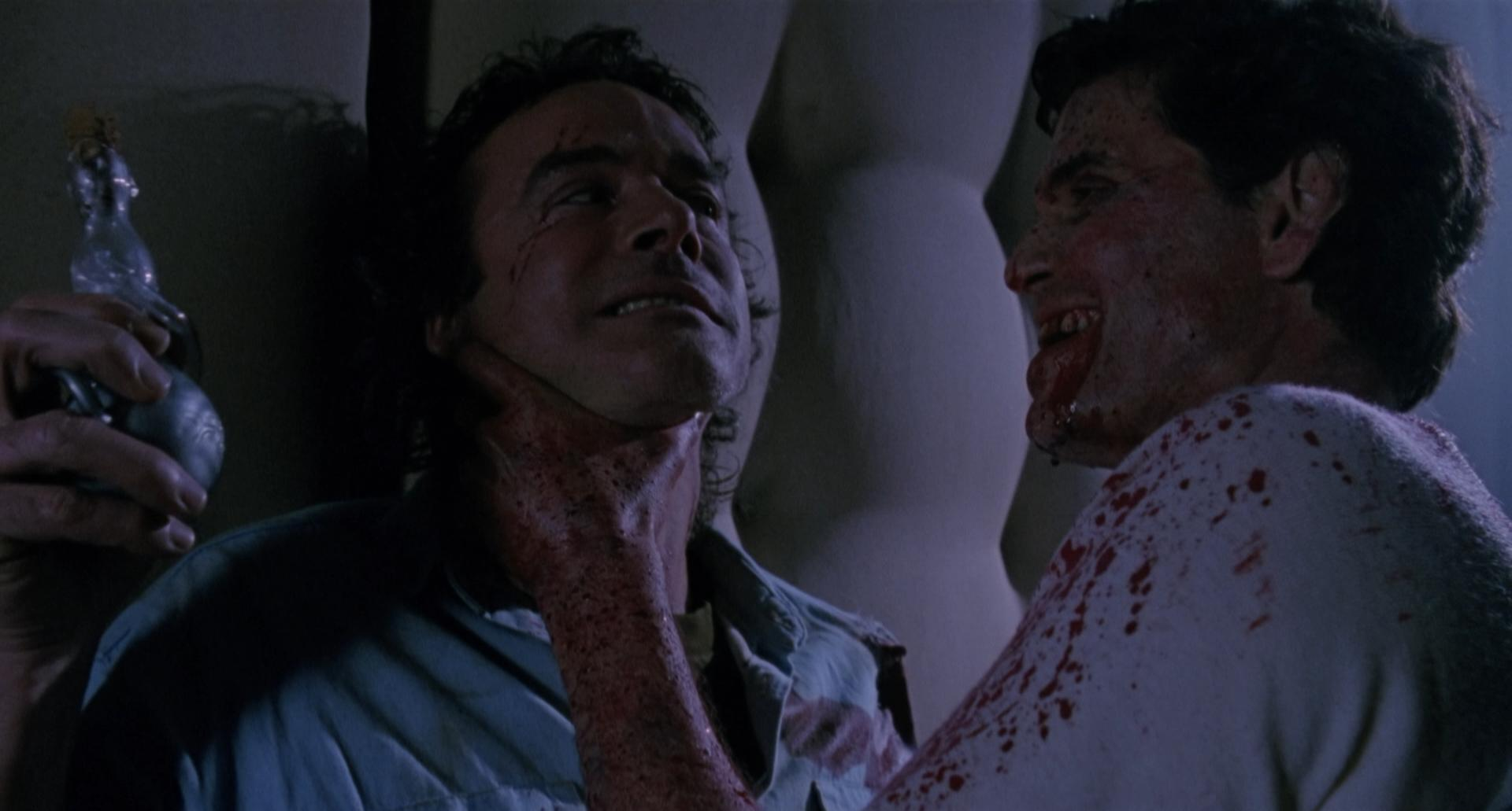 Chris Sarandon and John Terry in The Resurrected (1991)