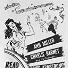 Louis Armstrong and Ann Miller in Jam Session (1944)