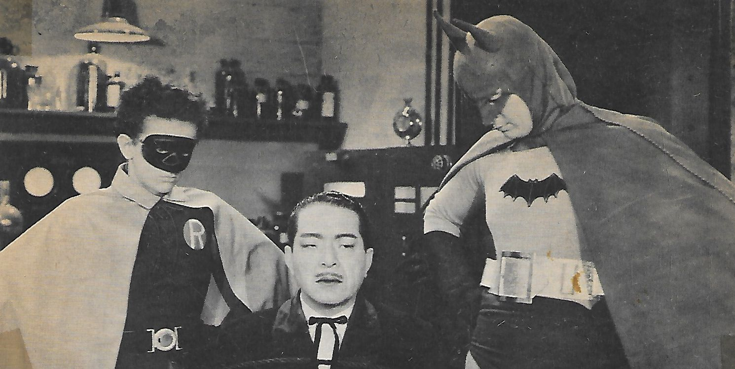Douglas Croft, J. Carrol Naish, and Lewis Wilson in Batman (1943)