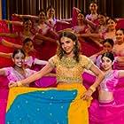 "Set Still of Azita Ghanizada on Psych, ""Bollywood Homicide"""