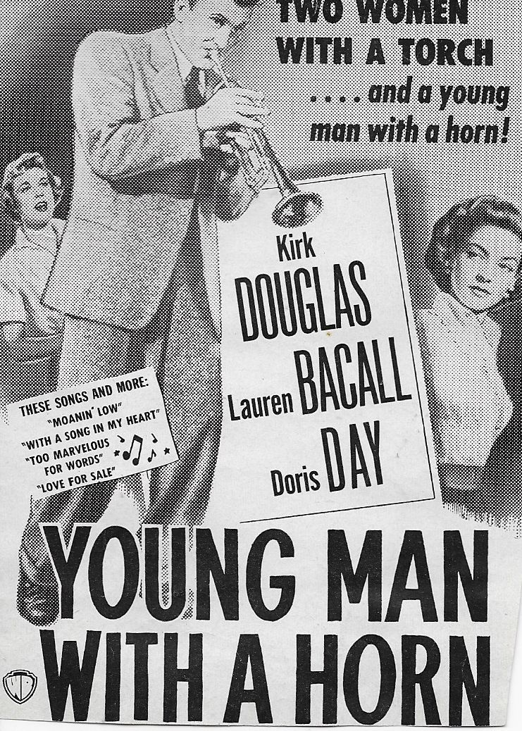 Image result for young man with a horn 1950 poster