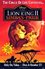 The Lion King 2: Simba's Pride (1998) Poster