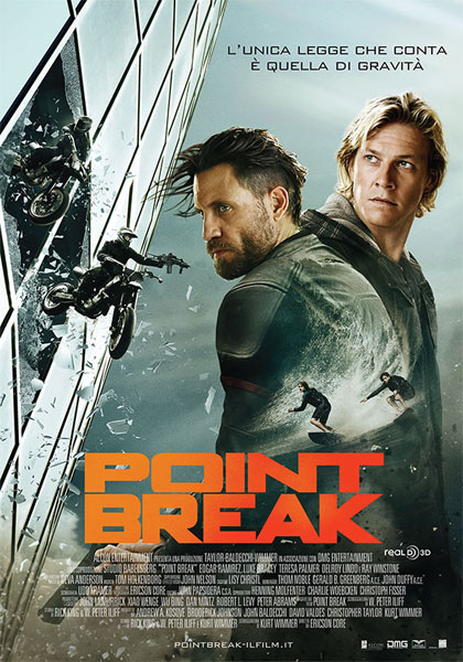 Point Break 2015 Hindi Dual 720p Audio 900MB BluRay ESubs