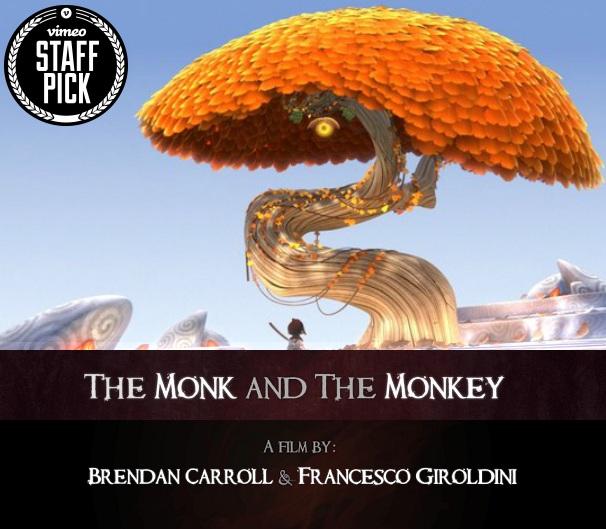 دانلود زیرنویس فارسی فیلم The Monk And The Monkey