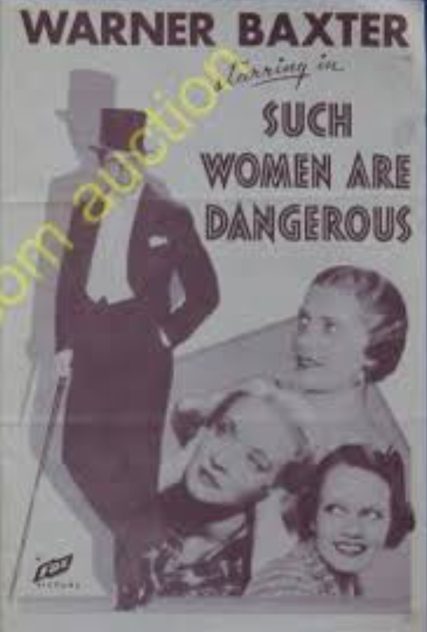 Rosemary Ames, Mona Barrie, Warner Baxter, and Rochelle Hudson in Such Women Are Dangerous (1934)