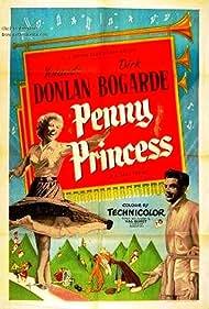 Dirk Bogarde and Yolande Donlan in Penny Princess (1952)
