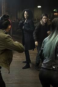 Simone Missick, Lauren Mary Kim, Jean Chung, and Jessica Henwick in Iron Fist (2017)