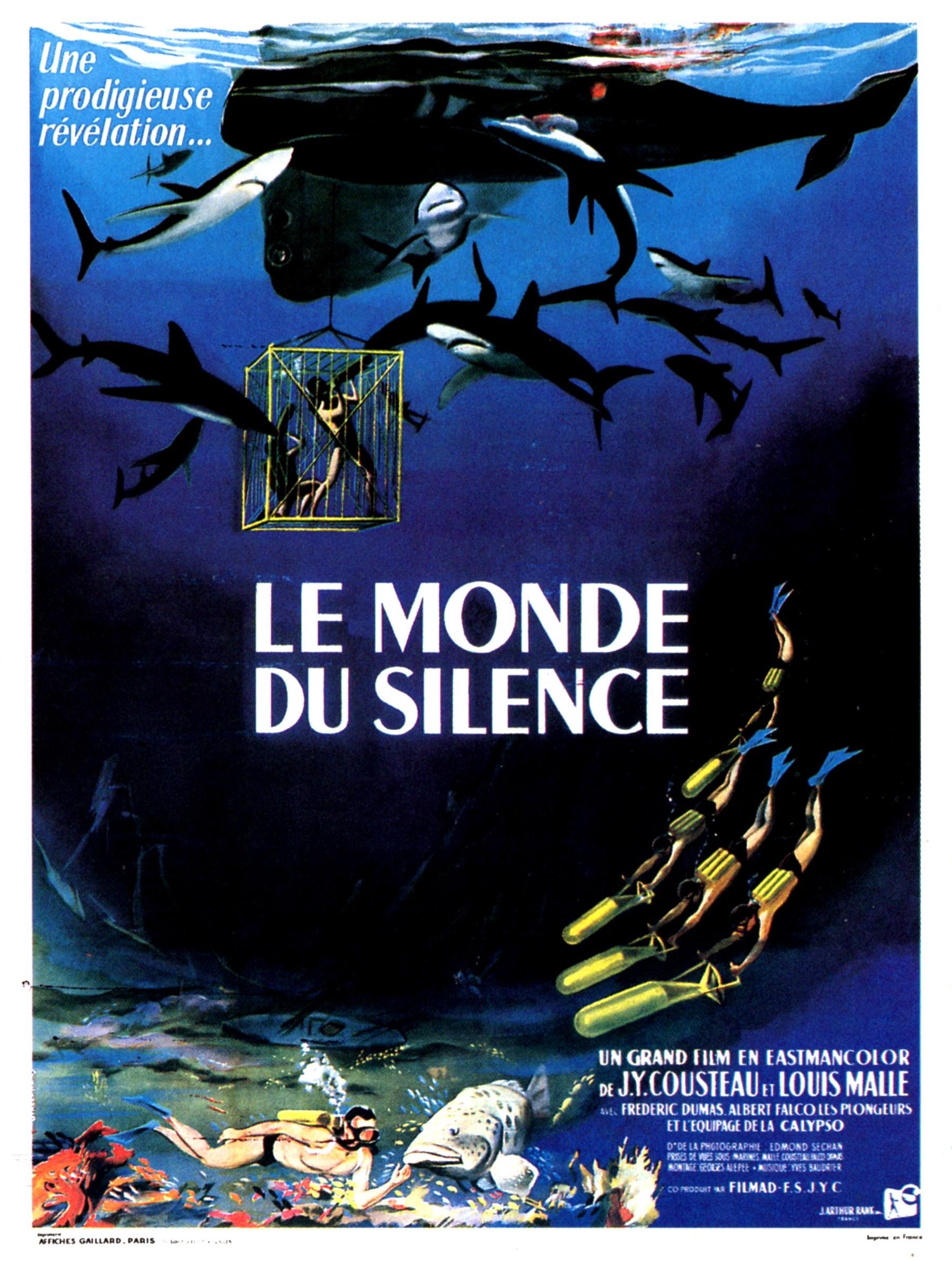 Le Monde Du Silence 1956 Imdb
