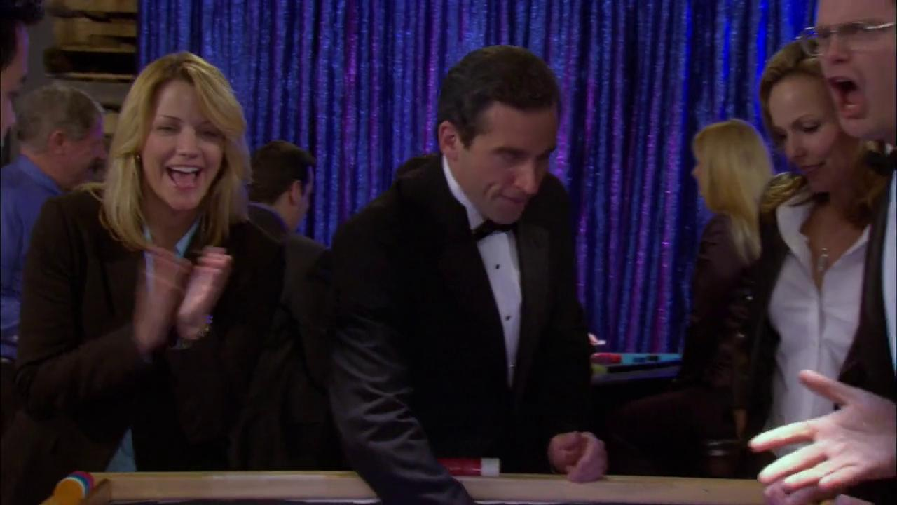 was Nancy Carell in the office