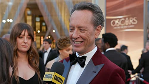 Bacon Strips, Trampoline Jumps Started Richard E. Grant's Oscar Day
