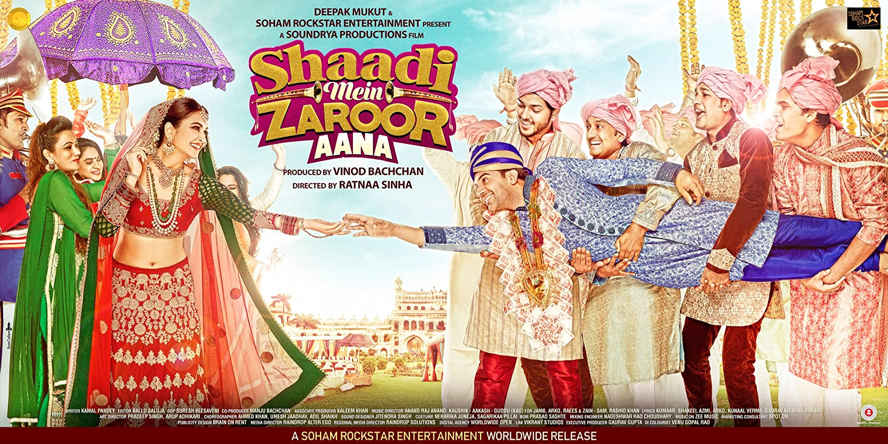Shaadi Mein Zaroor Aana (2017) Hindi HDRip – 700MB Download