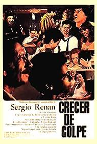 Ubaldo Martínez and Julio César Ludueña in Crecer de golpe (1977)