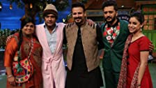 Vivek and Riteish in Kapil's Show