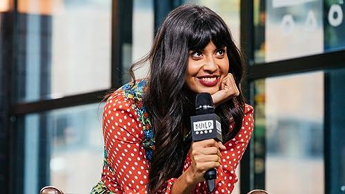 BUILD: Jameela Jamil's Love of her Co-Star, Ted Danson