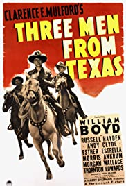 Three Men from Texas Poster