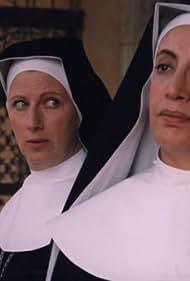 Athina Cenci and Angela Finocchiaro in Dio vede e provvede (1996)