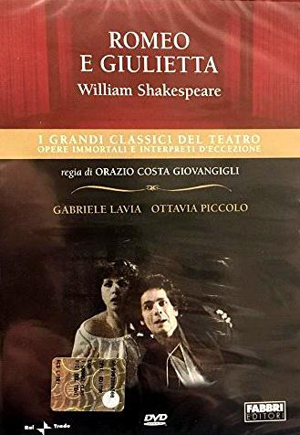 Gabriele Lavia and Ottavia Piccolo in Romeo e Giulietta (1978)