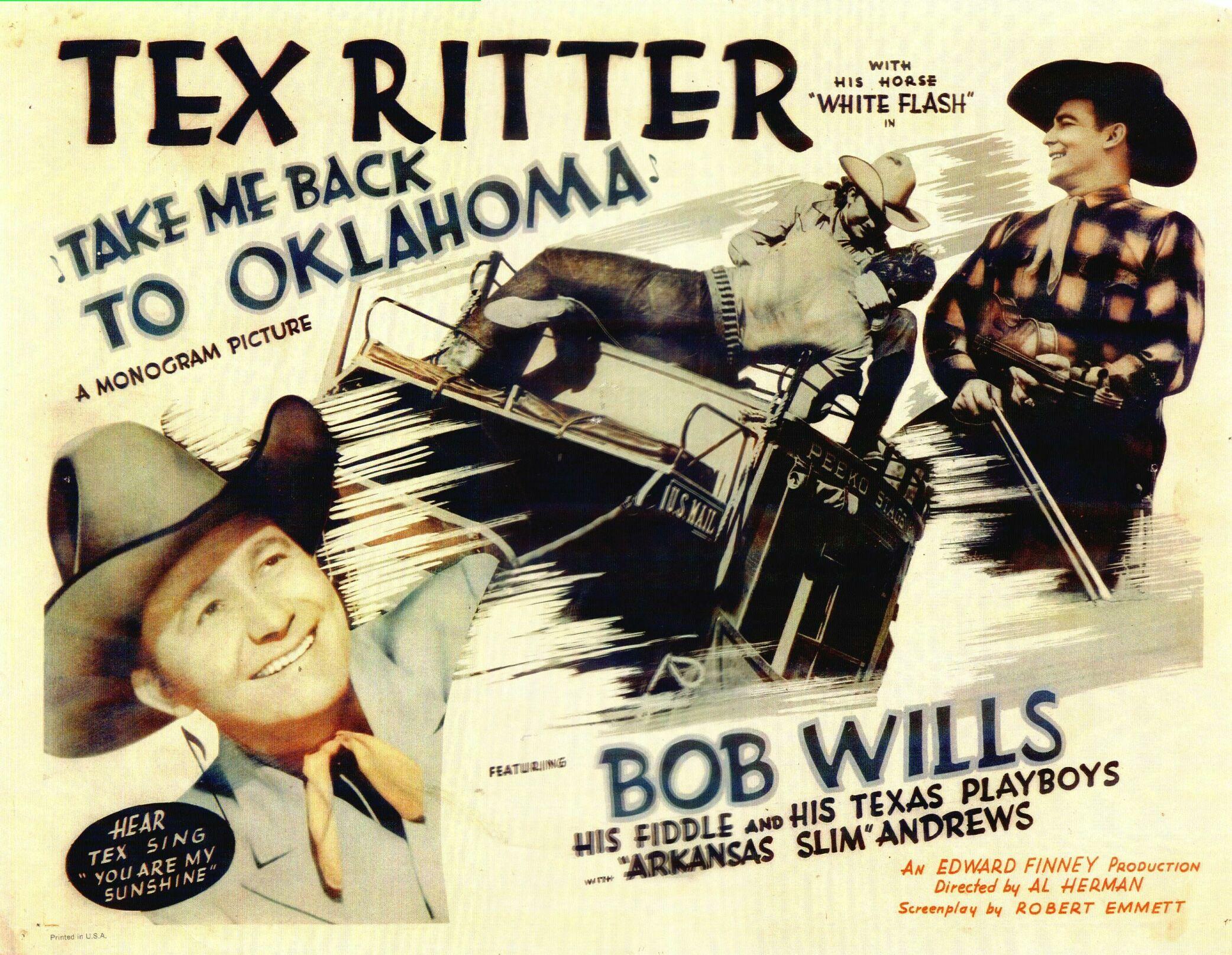 Take Me Back to Oklahoma (1940) - IMDb