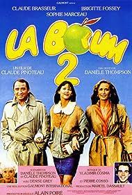 Sophie Marceau, Claude Brasseur, and Brigitte Fossey in La boum 2 (1982)
